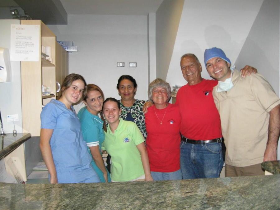Dr. Anglada and Crew